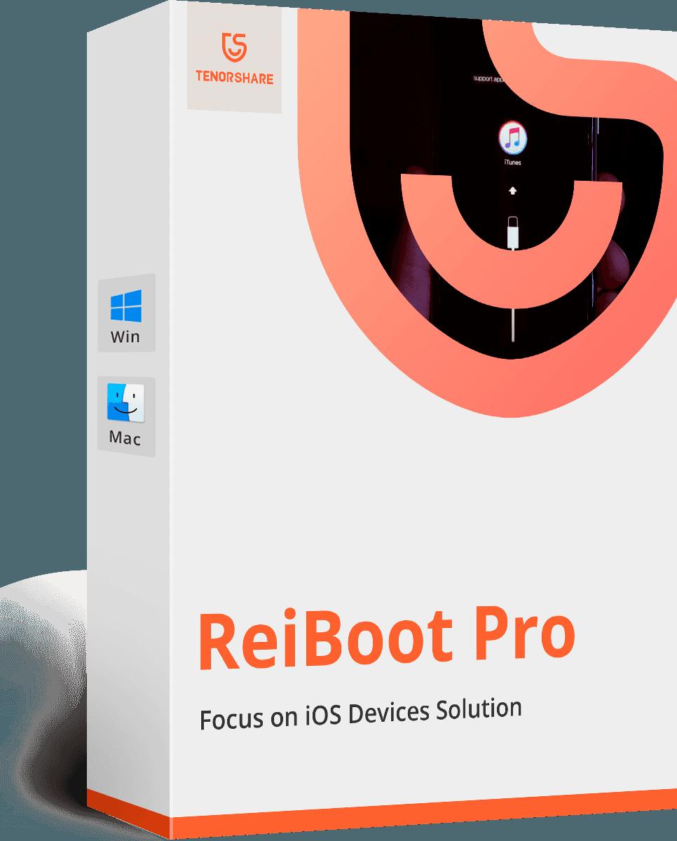 Tenorshare ReiBoot Pro 7.5.8 Crack Plus Registration Code Latest Version 2020