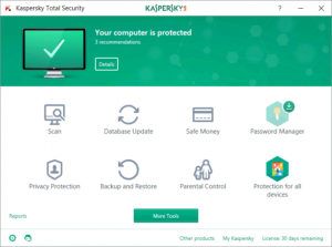 Kaspersky Total Security 2021 Activation Code With Crack ...