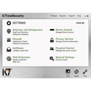K7 Total Security Crack16.0.0570 + Activation Key [Latest Version] 2022